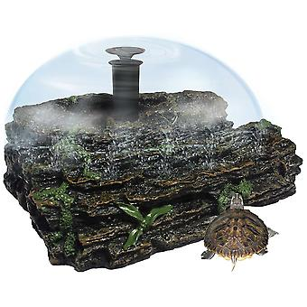 Ica Terra Grande Island with Fountain (Reptiles , Turtle Tanks & Accessories)