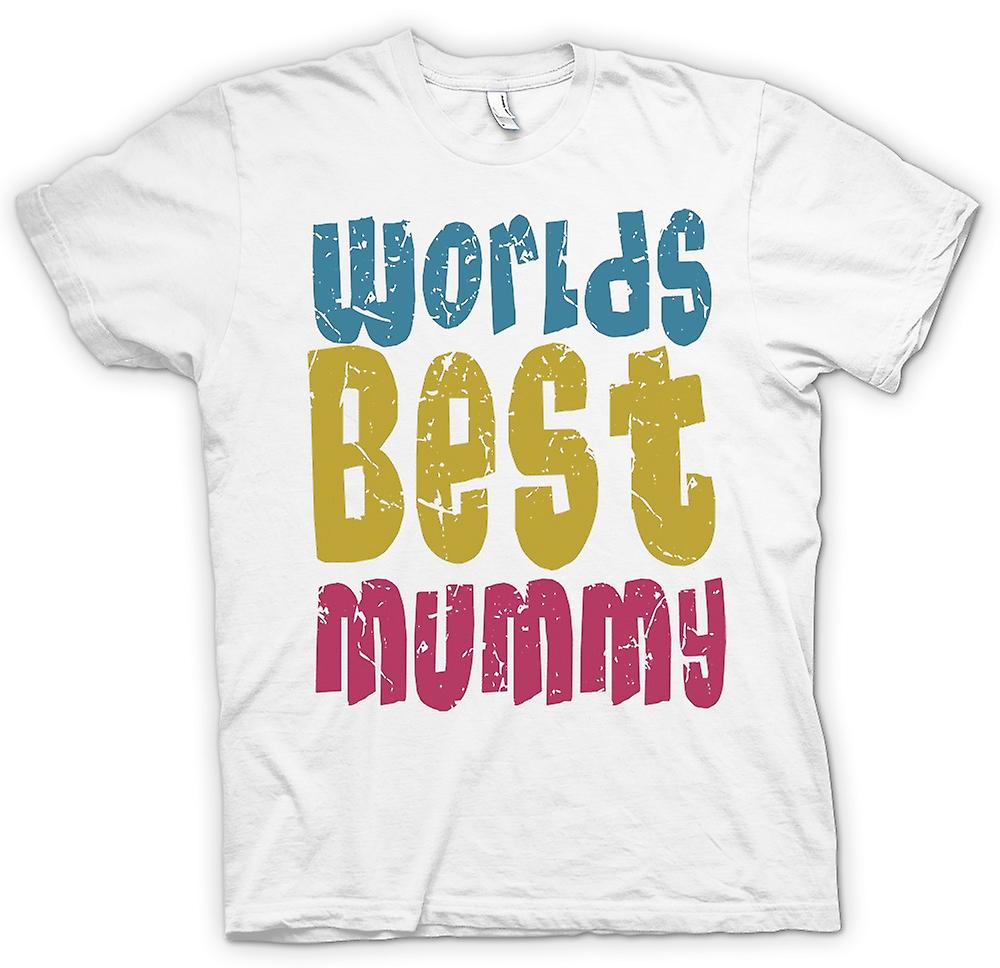 Womens T-shirt - 's werelds beste Mummy - Funny