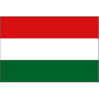 Ungarn flagg 5 ft x 3 ft med hull For hengende