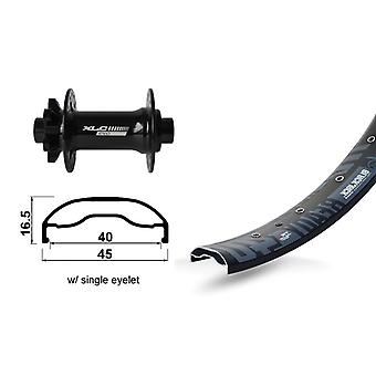 XLC 27, 5″ front wheel Rodi ready 40 disc + XLC Evo boost 6-hole