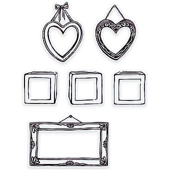 Tonic Studios Clear Stamps-Initial Frame