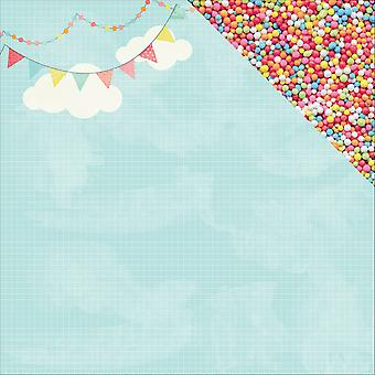 Party Time Double-Sided Cardstock 12