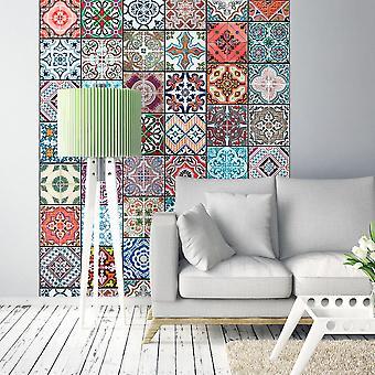 Behang - magie van kleuren