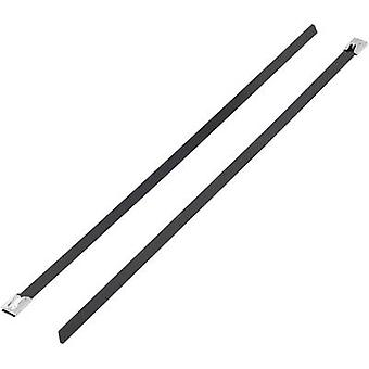 KSS 1091192 BSTC-201 Cable tie 201 mm Black Coated 1 pc(s)