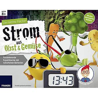Science kit (box) Franzis Verlag Der kleine Hacker: Strom aus Obst & Gemüse 978-3-645-65252-0