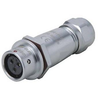Weipu SF1211/S7 II Bullet connector Connector, straight Series (connectors): SF12 Total number of pins: 7 1 pc(s)