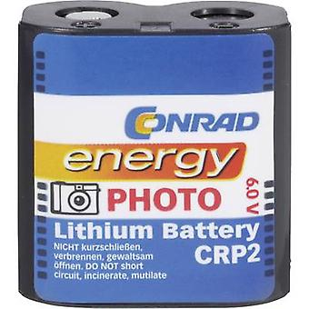 Camera battery CR-P2 Lithium Conrad energy CRP2 14