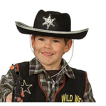 Cowboy hat black children