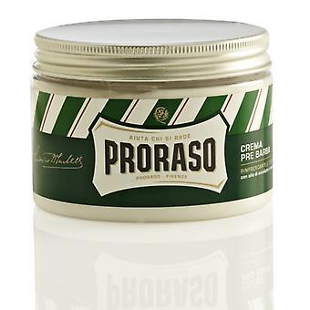 Proraso NUEVO Pre y Post Afeitado Crema Eucalipto y Mentol - 300ml