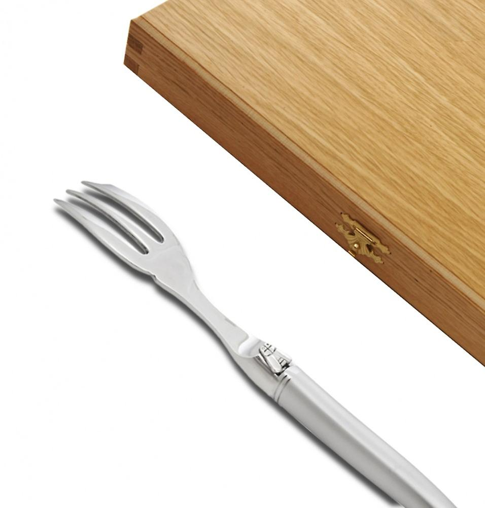 Prestige range Laguiole Cake forks sandblasted finish Direct from France