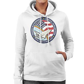 NASA STS 61B Space Shuttle Atlantis Mission Patch Women's Hooded Sweatshirt