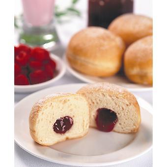 Kara eingefroren Riesen gezuckert Ball Jam Doughnuts
