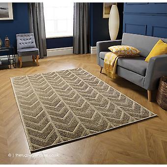 Flechas de Portland Beige alfombra