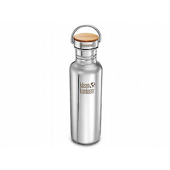 Klean Kanteen Classic Reflect 800ml Bottle with Bamboo Cap