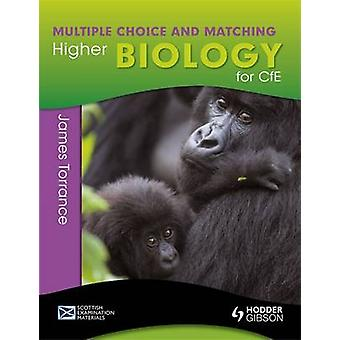 Higher Biology for Cfe - Multiple Choice and Matching by Clare Marsh -