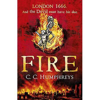Por C. C. Humphreys - 9781780891453 livro de fogo
