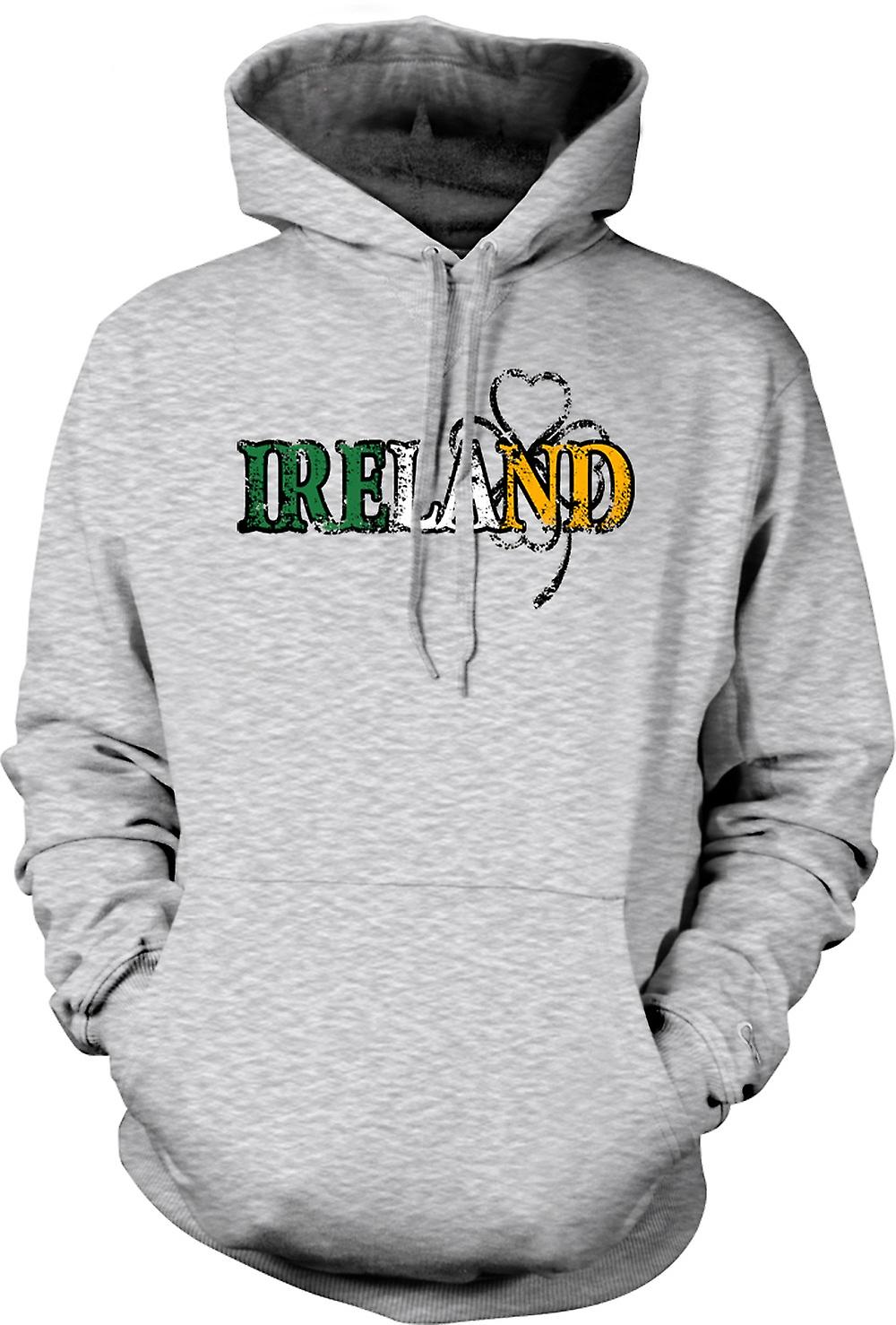 Para hombre con capucha - día de San Patricio - Irlanda