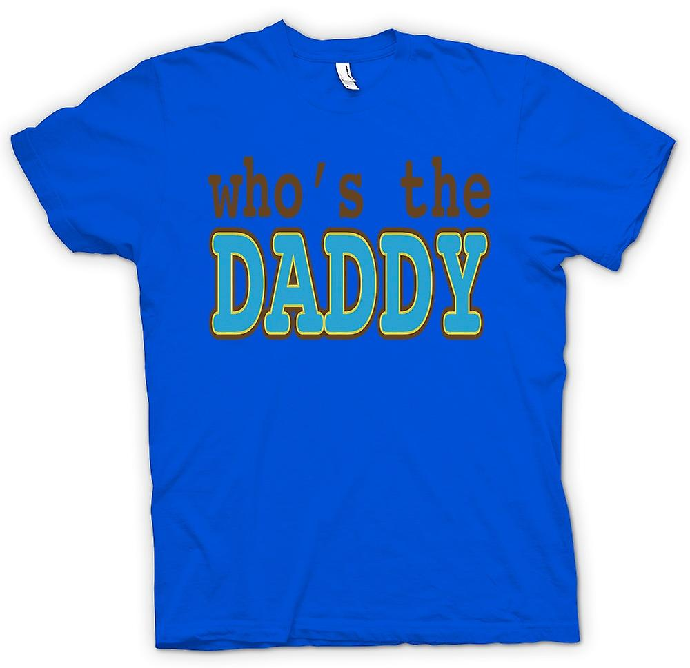 Heren T-shirt-wie de Daddy - citaat is