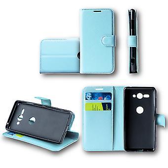 For Huawei P30 Pocket wallet premium Blau Schutz sleeve case cover pouch new accessories