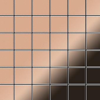 Mosaico de metal sólido Cobre ALLOY Cinquanta-CM