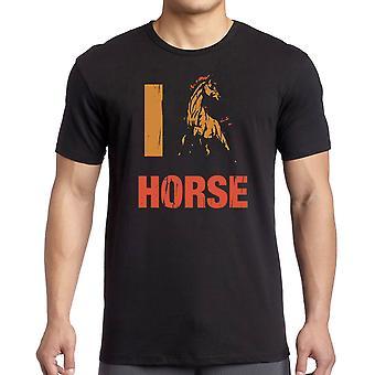 我爱马 T 衬衫