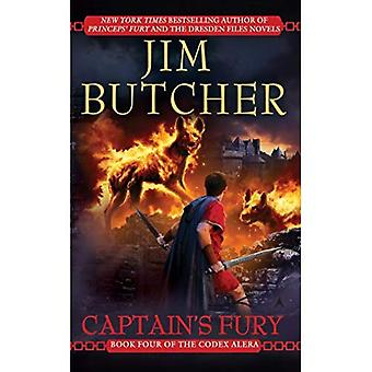 Captain's Fury (Codex Alera (Paperback))