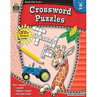 Ready Set Learn: Crossword Puzzles (Grade 2)