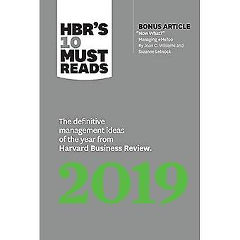 HBR's 10 Must Reads 2019: The Definitive Management Ideas of the Year from Harvard Business Review (with bonus article \