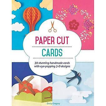 Papel corta tarjetas: 30 impresionantes tarjetas hechas a mano con llamativos diseños en 3D
