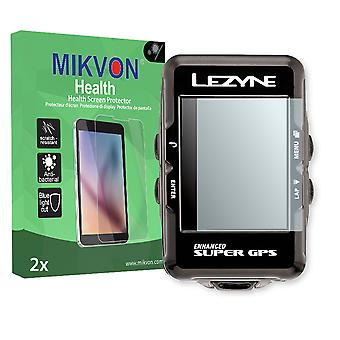 Lezyne Enhanced Super GPS Screen Protector - Mikvon Health (Retail Package with accessories)