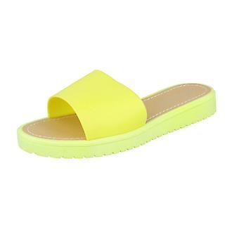 Ladies Savannah åpen tå Slip på sandaler