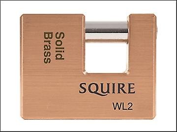 Henry Squire WL2 Warehouse Padlock 70mm Solid Brass