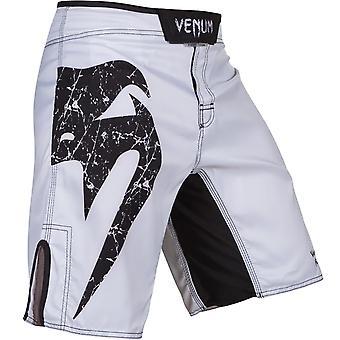 Shorts Venum Mens Original géant MMA Training combat - blanc/noir