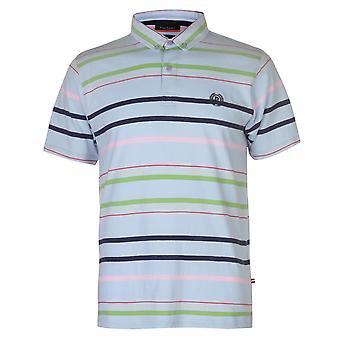 Pierre Cardin menns Stripe 4 Polo skjorte T t-skjorte korte ermer topper