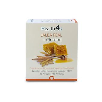 Health 4U Jalea Real + Ginseng 10 Ampoules