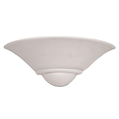 Endon UG-WB-7 Unglazed Ceramic Wall Uplighter - Over Paintable