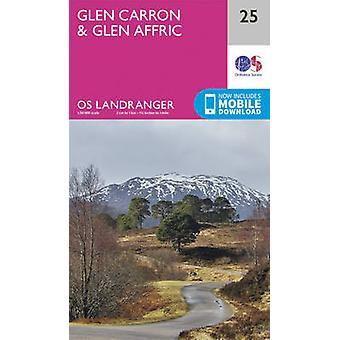 Glen Carron & Glen Affric by Ordnance Survey - 9780319261231 Book