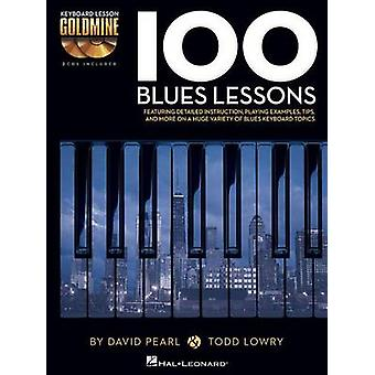 Keyboard Lesson Goldmine - 100 Blues Lessons (Book/2 Cds) by David Pea