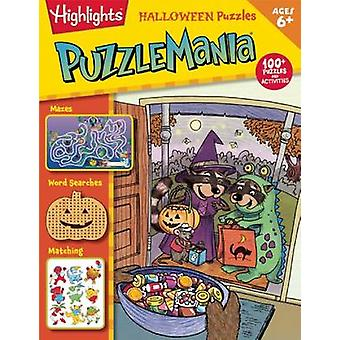 Halloween Puzzles by Highlights for Children - 9781629792651 Book