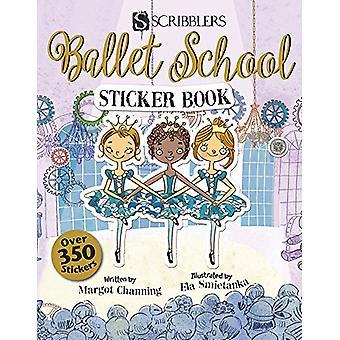 Ballet School Sticker Book by Margot Channing - 9781912233168 Book
