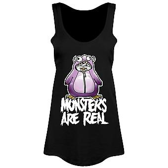 Psycho Penguin Ladies/Womens Monsters Are Real Floaty Tank