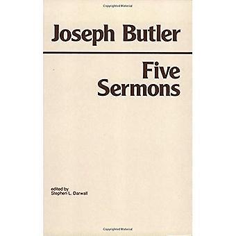 Cinco sermones, predicó en la capilla de los rollos y una tesis sobre la naturaleza de la virtud