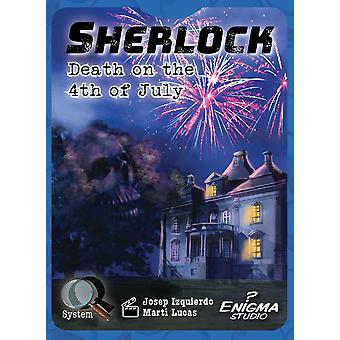 Enigma Studio Sherlock: Death on The 4th of July Card Game