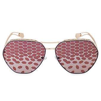 Bvlgari Serpenteyes BV6098 2032H5 61 Aviator Sunglasses