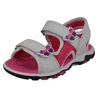 Girls Spot On Sandals H0318