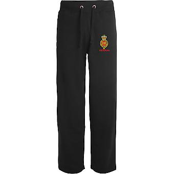 Household Cavalry Veteran - Licensed British Army Embroidered Open Hem Sweatpants / Jogging Bottoms