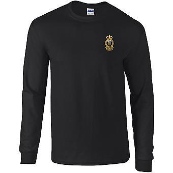 Royal Army Ordnance Corps-gelicentieerd Britse leger geborduurd lange mouwen T-shirt