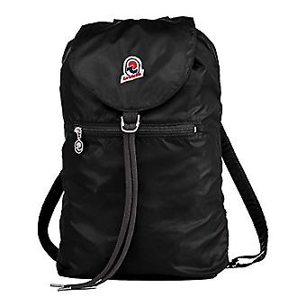 Backpack Invicta Minisac Glossy - Black - 8 Lt - Resealable - Travel & Leisure