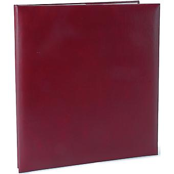 Leatherette Post Bound Album 8.5