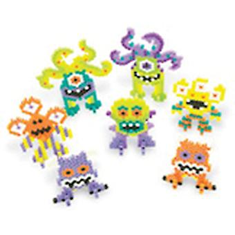 Perler Fun Fusion Fuse Bead Activity Kit Monster Party 80 62873